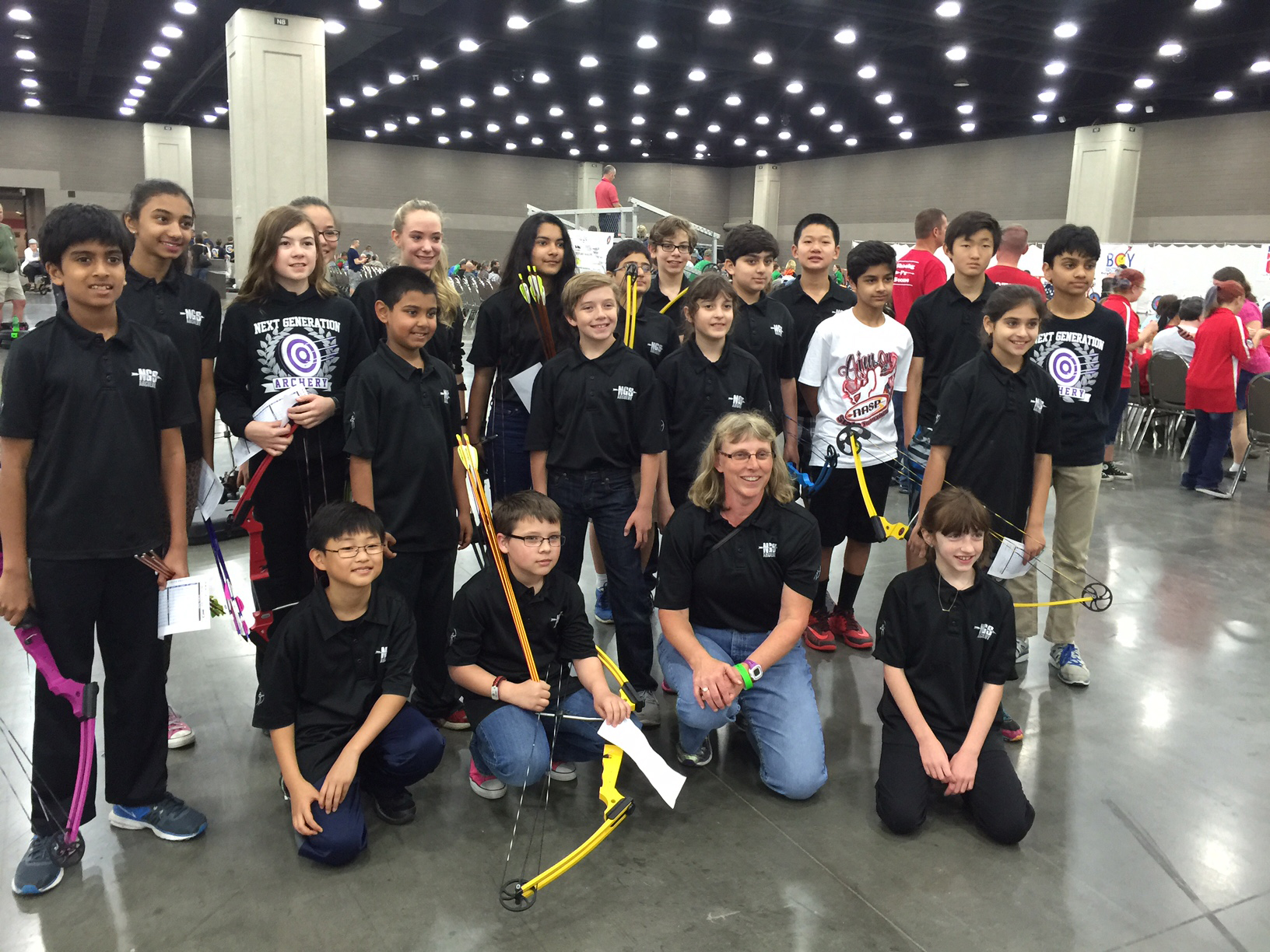 Archery: Elementary team wins first place at 2017 State Tournament