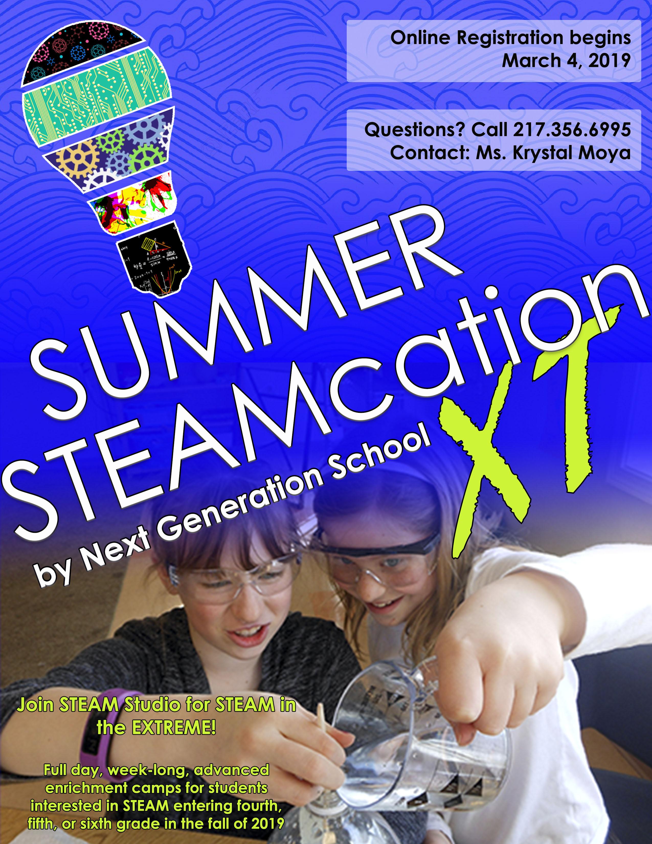 Summer STEAMcation - Next Generation School